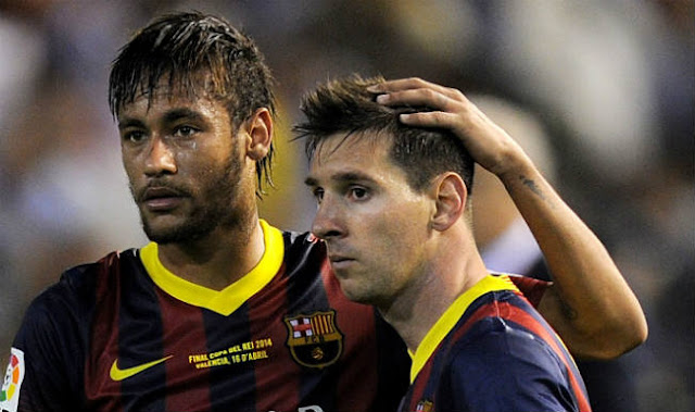 Lionel Messi says Neymar much more complete