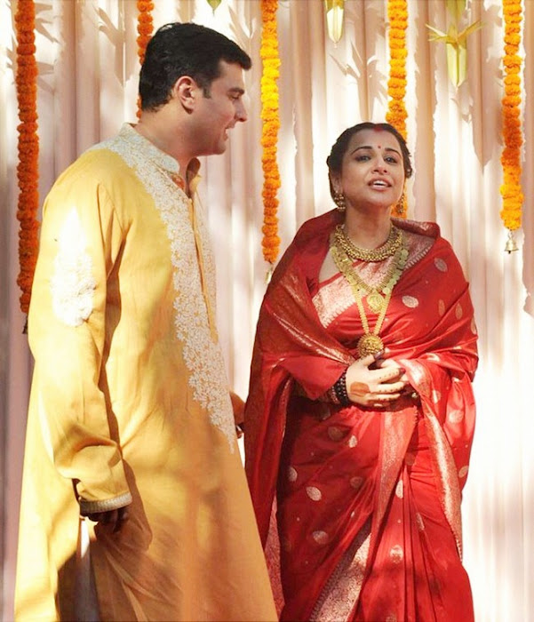 vidyabalan marriage glamour  images