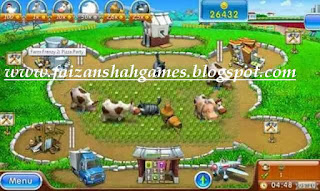 Farm Frenzy pizza party serial