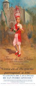Libro de la Danza de las Cintas de venta en el Despacho Parroquial a 16€.