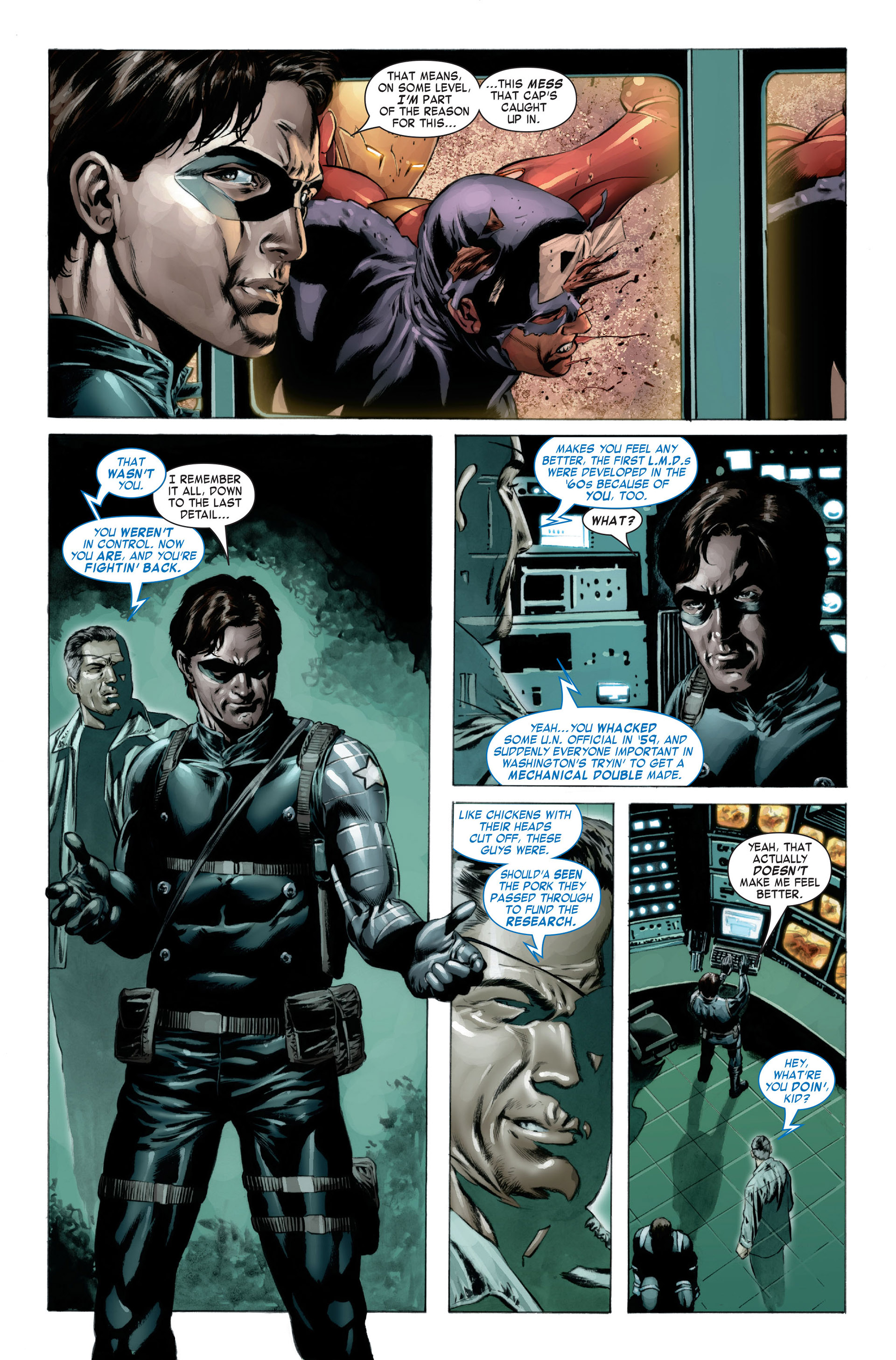 Captain America (2005) Issue #23 #23 - English 12