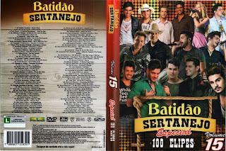 DVD Batidão Sertanejo Especial – Vol.15 (2015)