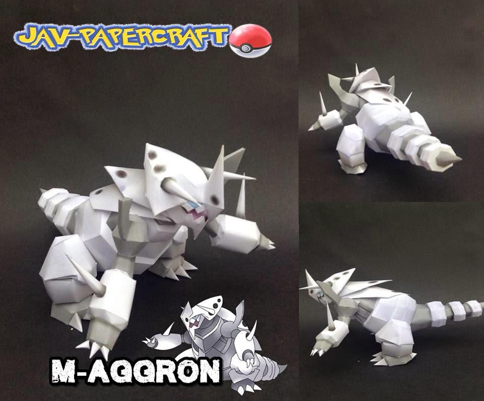 Mega Aggron Papercraft