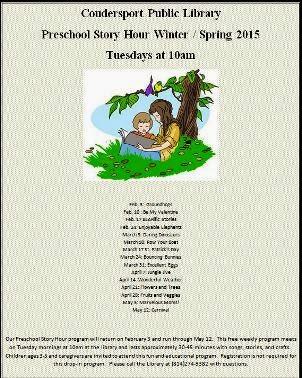 2-3 Preschool Story Hour