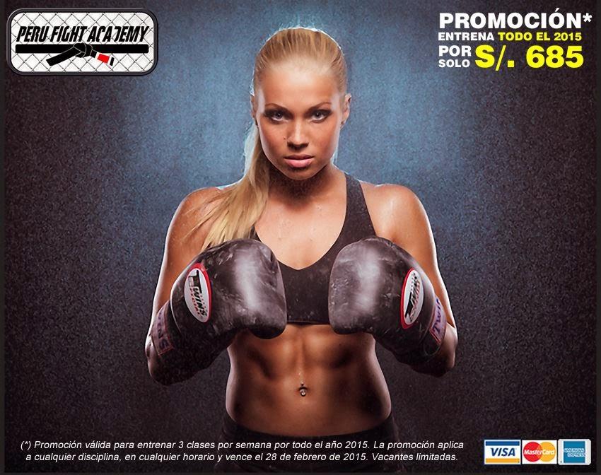 Entrena todo el 2015 por S/. 685 en Peru Fight Academy
