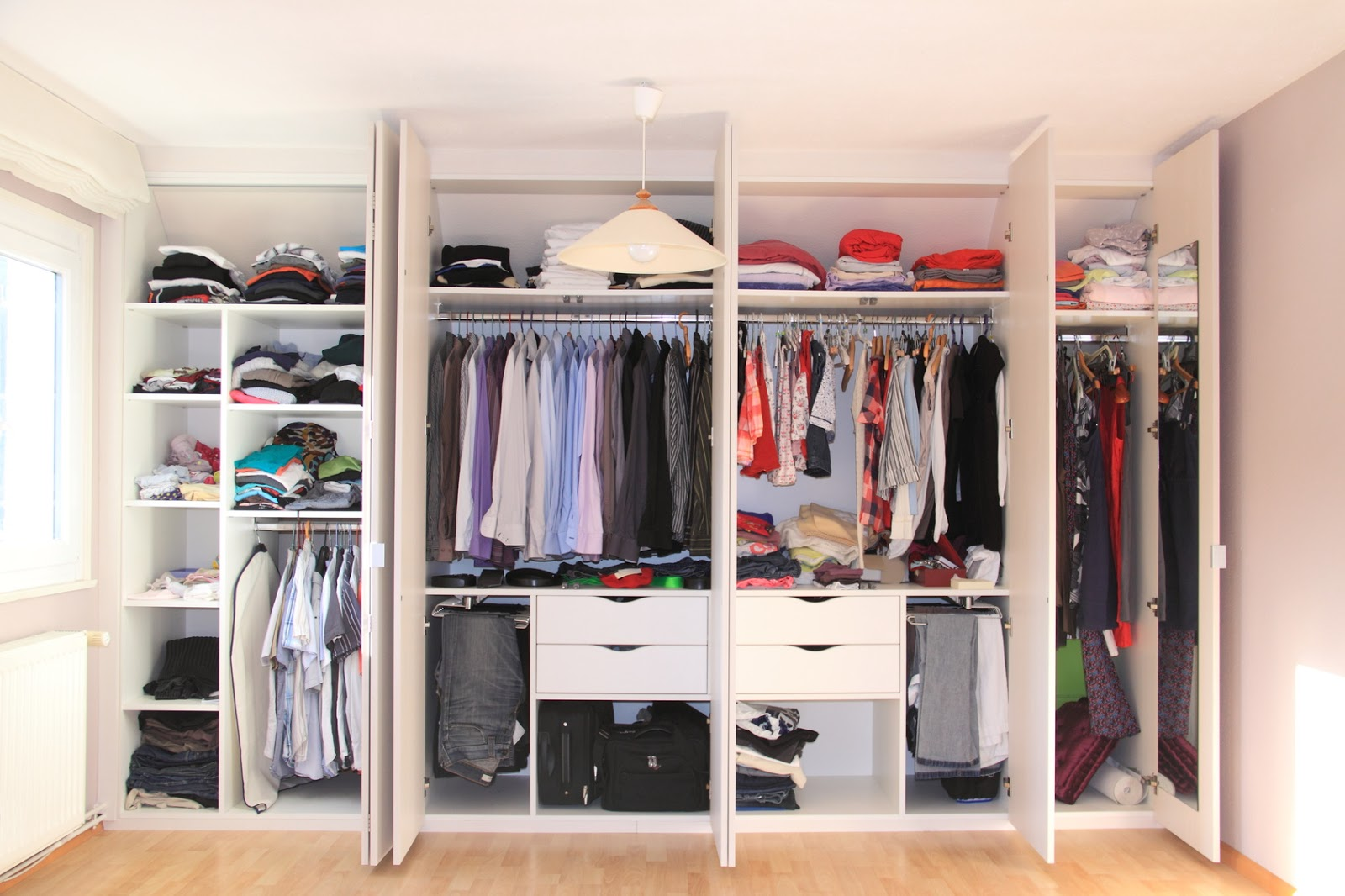 If You Use The Above Ten Suggestions Your Bedroom Closet Will Have A Basis  To Start Fresh And Organized. This Will Keep The Space Uncluttered And Easy  To ...