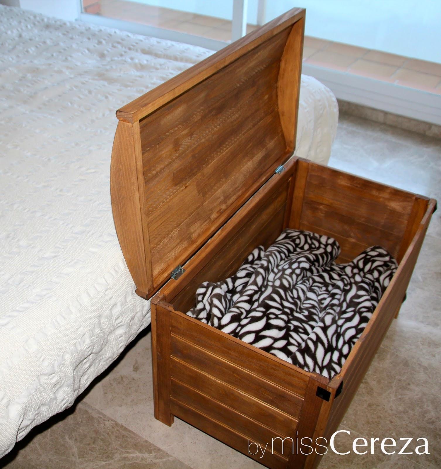 Diy baul de madera almacenaje