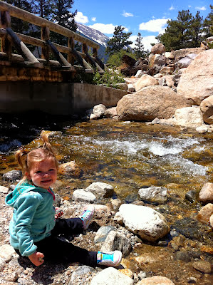 Get Well, Colorado! Alluvial Fan, Rocky Mountain National Park, Estes Park www.thebrighterwriter.blogspot.com #2013ColoradoFlood #Coloradoflood #stmalochurch #estespark #mountainstrong #RMNP #Alluvialfan