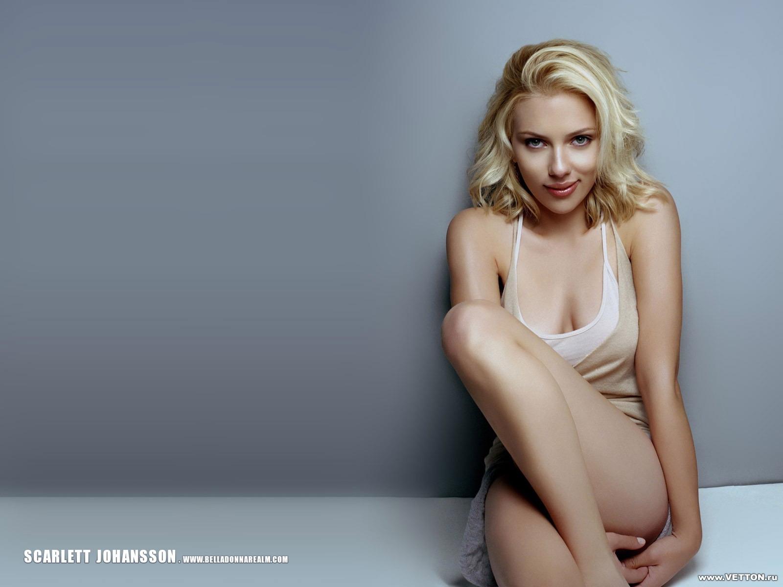 Scarlett Johansson Profile Nd Wallpaper 2012