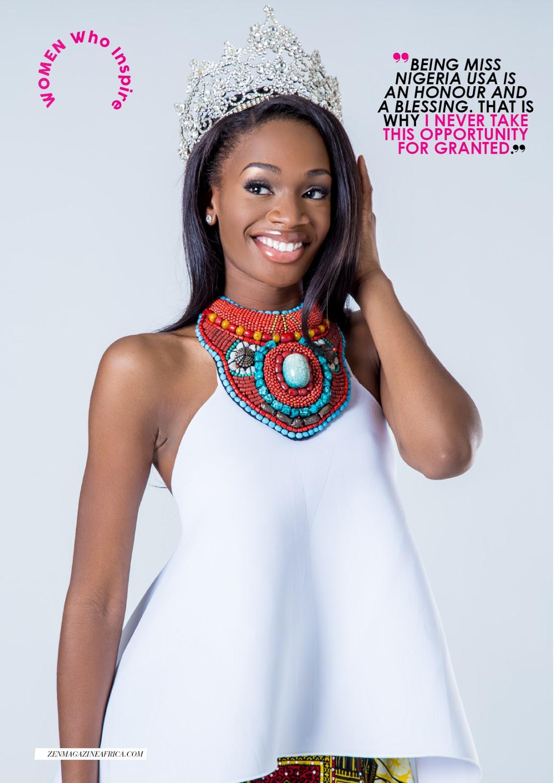 Miss Nigeria USA Winner Tosin Araromi Reveals That Being ...