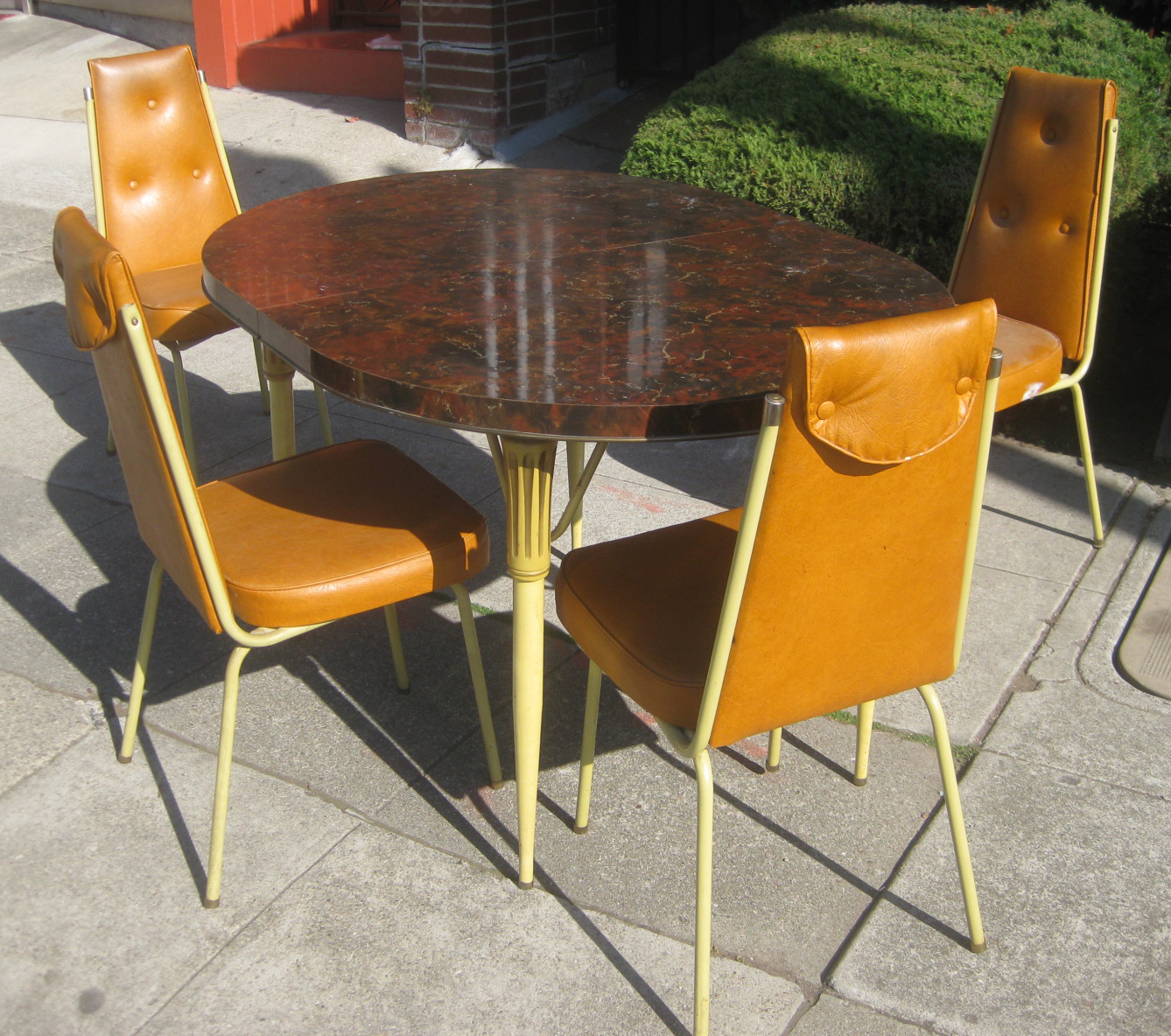 Colorful Kitchen Chairs: UHURU FURNITURE & COLLECTIBLES: SOLD