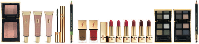 YSL Yves Saint Laurent Manifesto, Le Teint Touche Eclat Foundation, Forever Youth Liberator Eye Zone Serum, Contemporary Amazon Make Up Fall Collection 2012