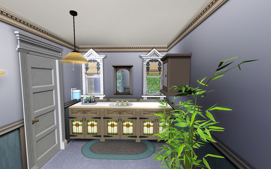 Estilo the sims classic house for Classic house sims 4