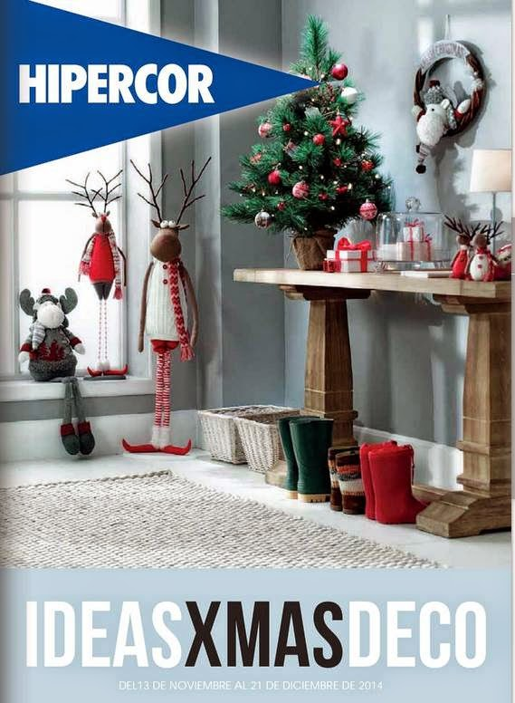 catalogo hipercor adornos de navidad 2014
