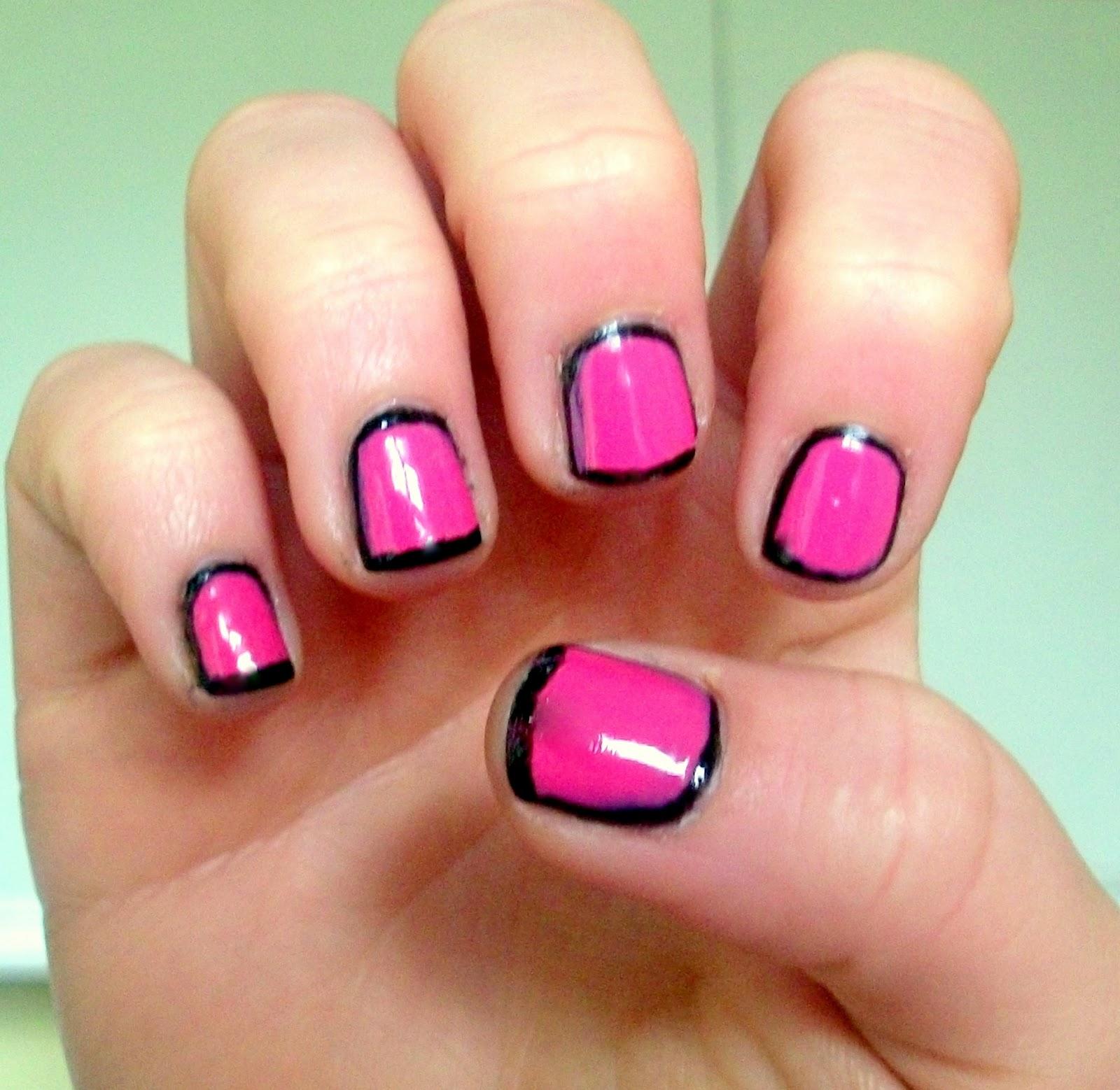 Nail Cute: GemSeren UK Beauty Blog: NOTD: Inspired By Cute Polish