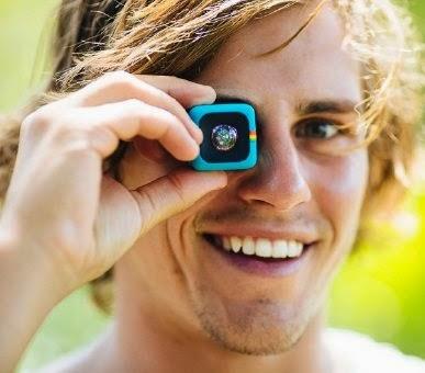 câmeras digitais, filmadoras, Polaroid Cube, gadgets, fotografia