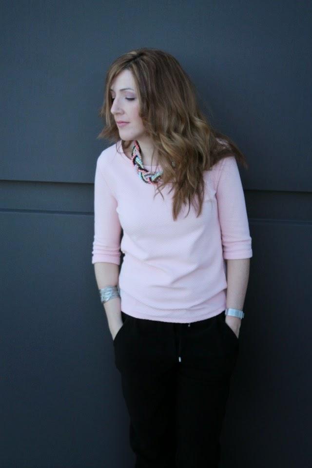 #LOOK. Sweet pink