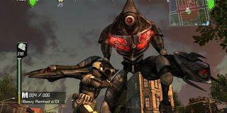 Earth Defense Force trooper Hector robot Insect Armageddon