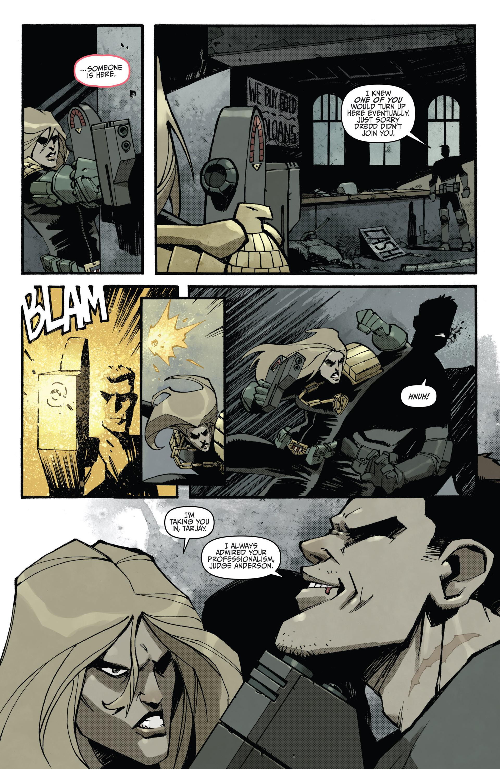 Read online Judge Dredd (2012) comic -  Issue #15 - 10
