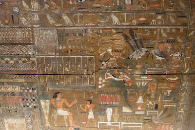 Djehutynakht onions ancient egypt painting Boston Museum of Fine Arts