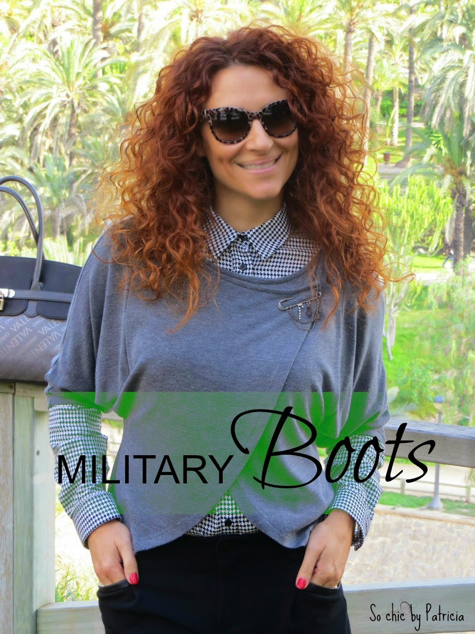 So chic by Patricia_Military Boots