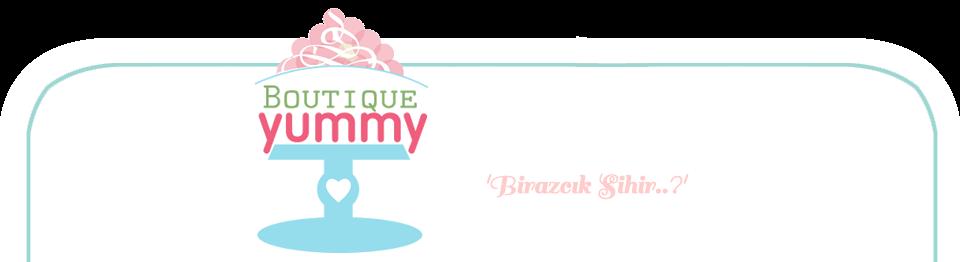 Boutique Yummy - Butik Pasta & Cupcake & Kurabiye Tasarımı / İZMİR