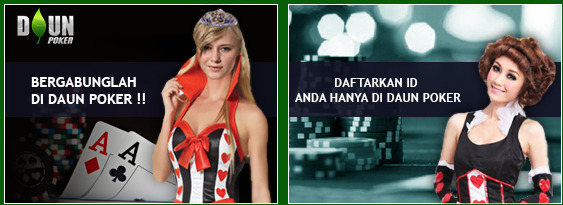DaunPKR.com Agen Poker Domino Online Indonesia Terbaik Terbesar dan Terpercaya