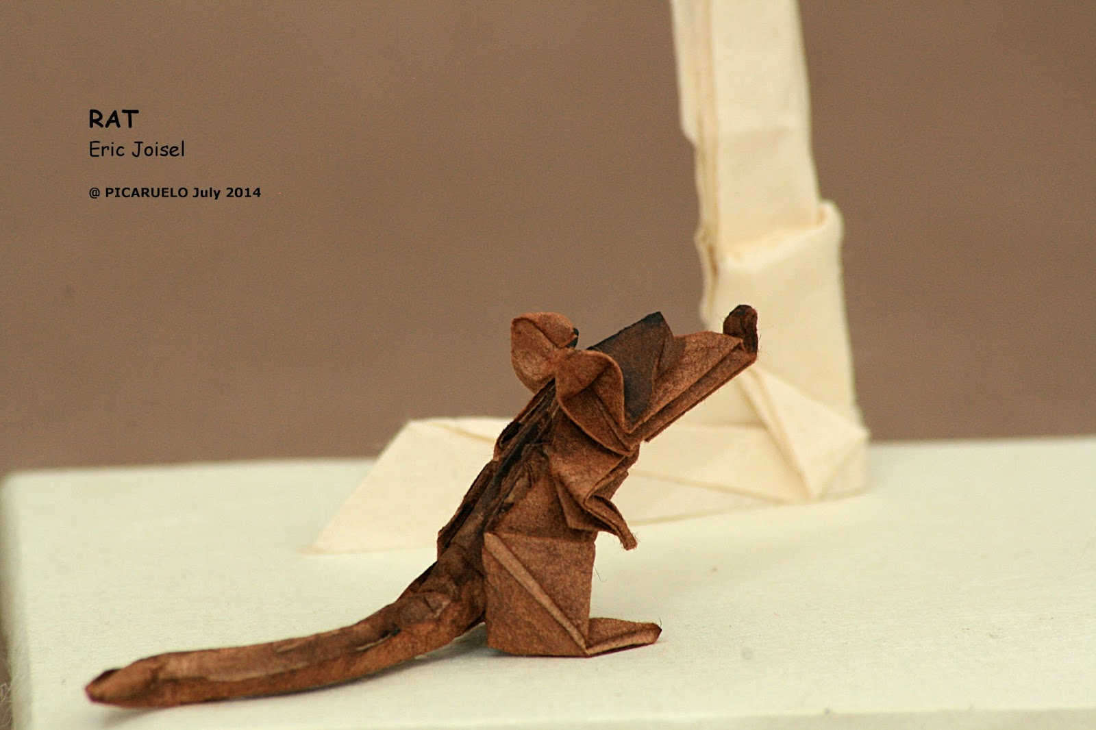Picaruelos origami the flautist here is a close up pic of the rat jeuxipadfo Images