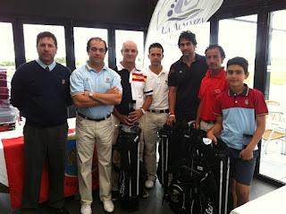 ganadores en La almarza Golf del Puntuable de Castilla y León de Pitch & Putt