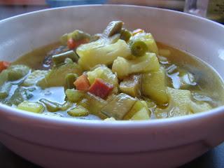 menestra de verduras,que comer con hierro alto,ferritina,hemocromatosis