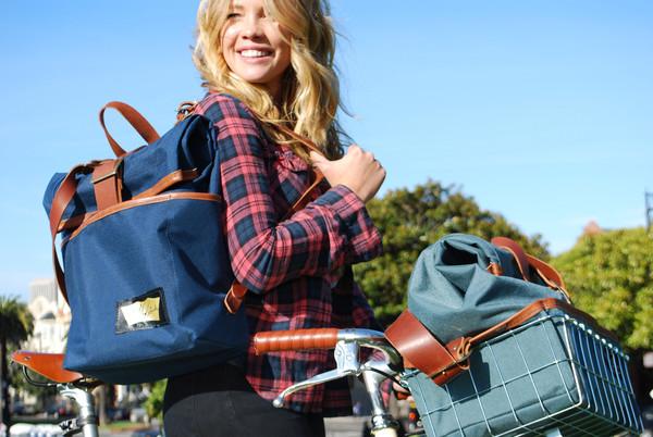 Handmade Handbags and Packs for Cyclists