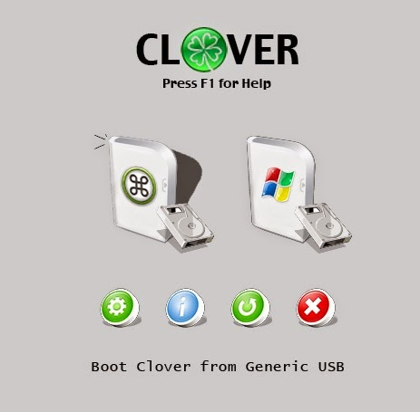 how to make clover show usb disks on boot
