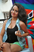 New Actress Jhansi Hot Stills in Shorts-thumbnail-6