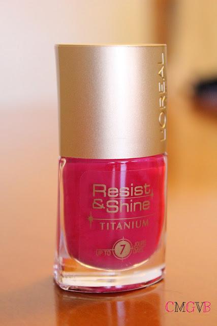 L'Oréal Resist&Shine Titanium pintauñas vernis nail polish