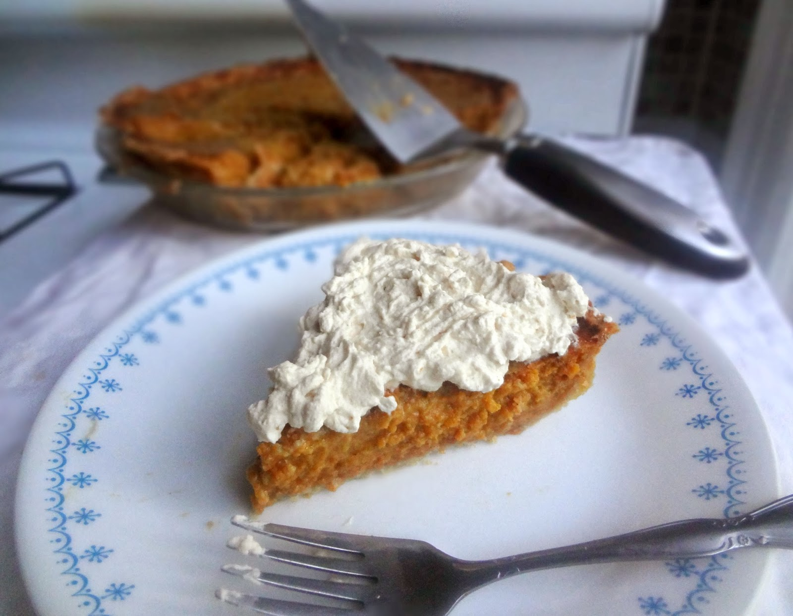 pumpkin pie is the first pie i can remember loving every thanksgiving ...