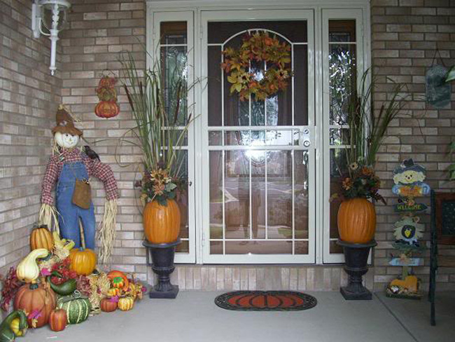 amy 39 s daily dose outside fall decorating