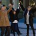 Tom Hanks e Justin Bieber no clipe de 'I Really Like You' de Carly Rae Jepsen