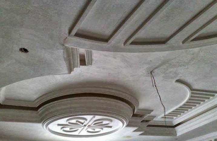 Salons du maroc et d coration orientale faux plafond tr s for Decoration platre marocain 2014