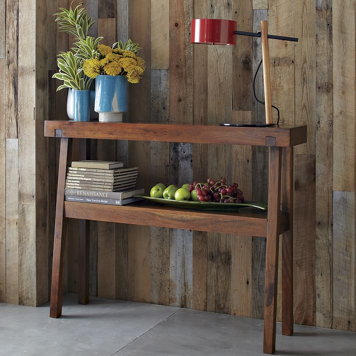 Foyer Table West Elm : Planning a console table build