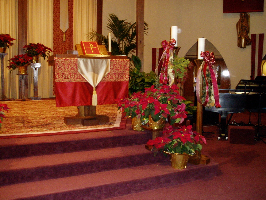Church decor ideas for Christmas 2011