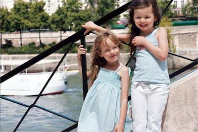 Moda infantil Elle Primavera - Verano 2011