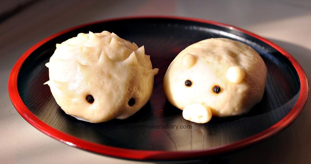 Shaped Steamed Bun (Baozi), Tibetan Tingmo and Tupperware 'Steam It'