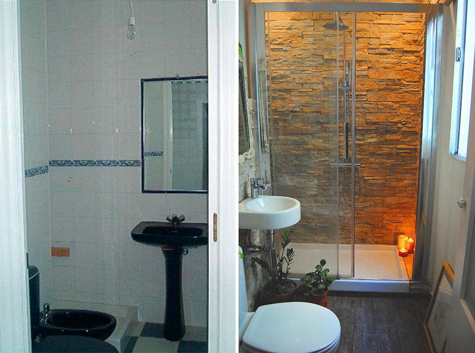 Baño De Lujo Pequeno:Antes y después: mi mini baño