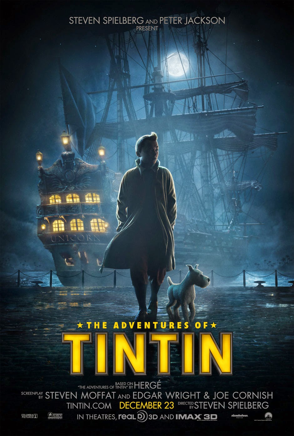The Adventures of Tintin (2011) tainies online oipeirates