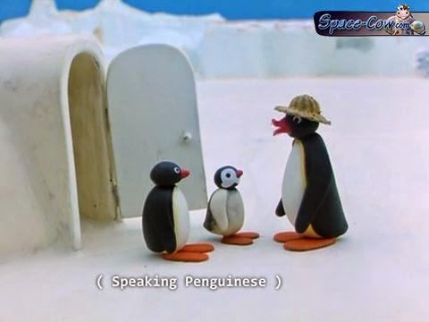 funny subtitle penguins picture