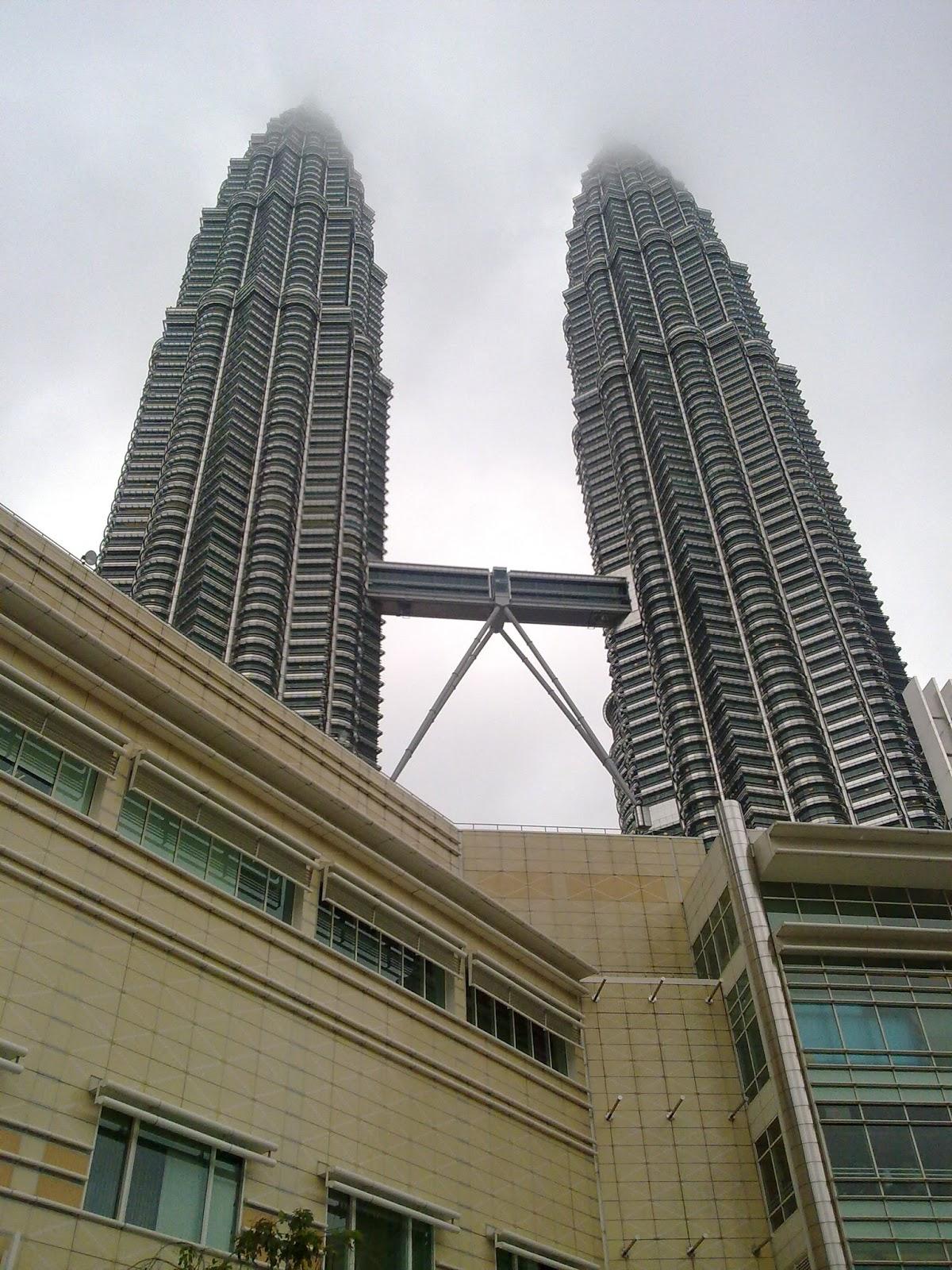 Menara, berkembar, petronas, Kuala, lumpur, KLCC, tempat, menarik, malaysia