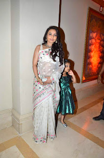 Rani Mukarjee at Bappa Lahiri & Taneesha Verma Marriage Reception