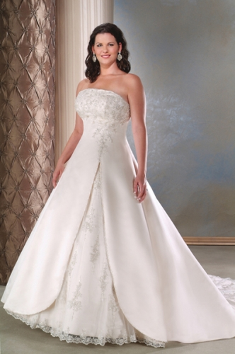 beautiful strapless wedding gowns bridal wears