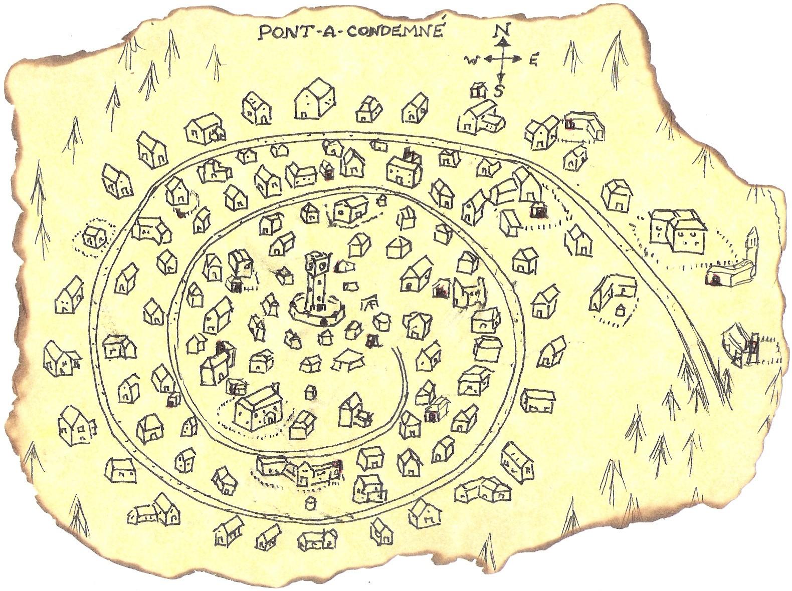 Ravenloft Map