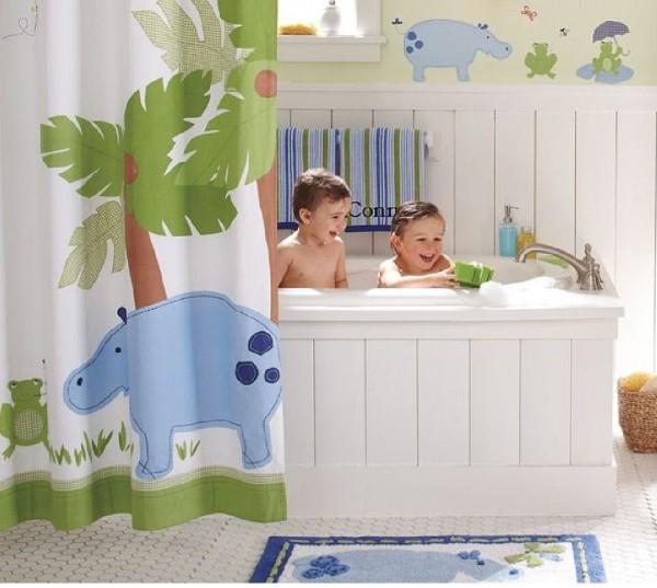 tips dekorasi kamar mandi anak desain rumah minimalis